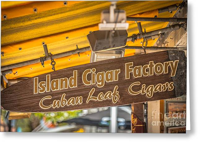 For Factory Greeting Cards - Island Cigar Factory Key West - HDR Style Greeting Card by Ian Monk