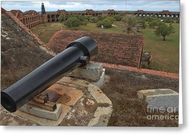 Dry Tortugas National Park Greeting Cards - Island Defense Greeting Card by Adam Jewell