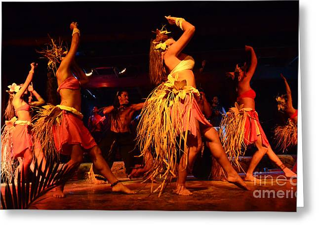 Moai Greeting Cards - Island Love Rapa Nui 2 Greeting Card by Bob Christopher