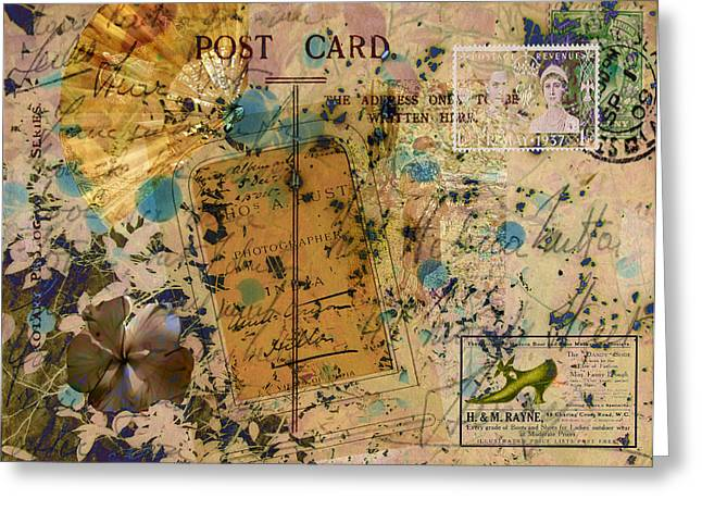 Sarah Vernon Greeting Cards - Island Love Greeting Card by Sarah Vernon