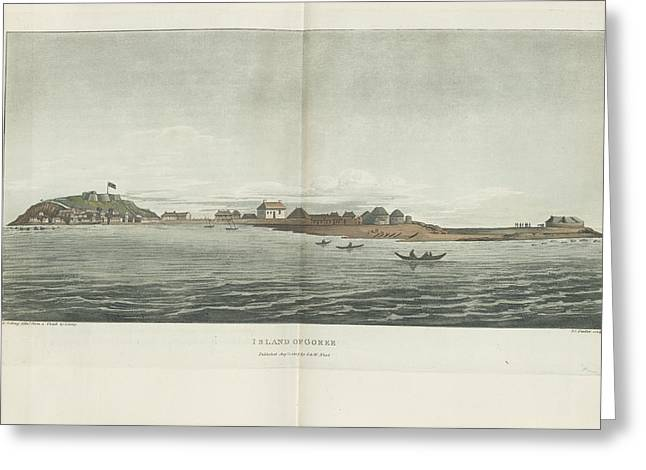 Island Of Goree Greeting Card by British Library