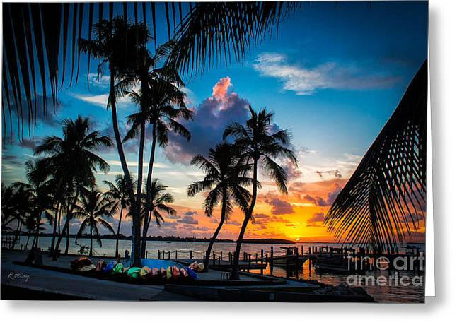 Isla Morada Greeting Cards - Island of Leisure Greeting Card by Rene Triay Photography