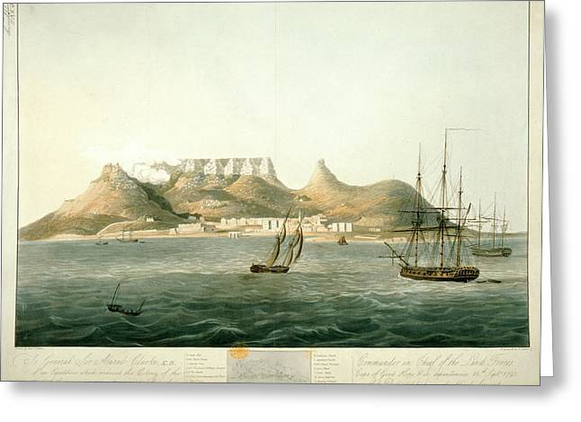 Island Of Saint Helena Greeting Card by British Library