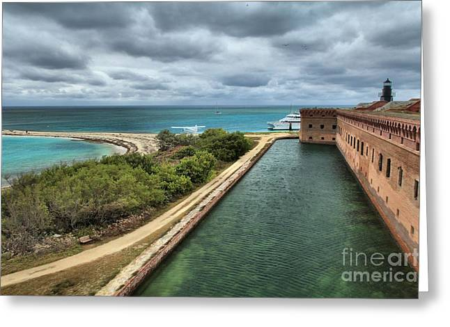 Dry Tortugas National Park Greeting Cards - Island Protection Greeting Card by Adam Jewell