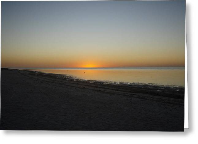 Robert Nickologianis Greeting Cards - Island Sunset Greeting Card by Robert Nickologianis