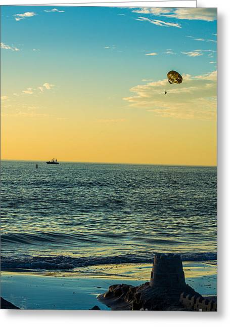 Island Vacation Greeting Card by Along The Trail