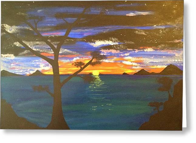 Island View Greeting Card by Scott Wilmot