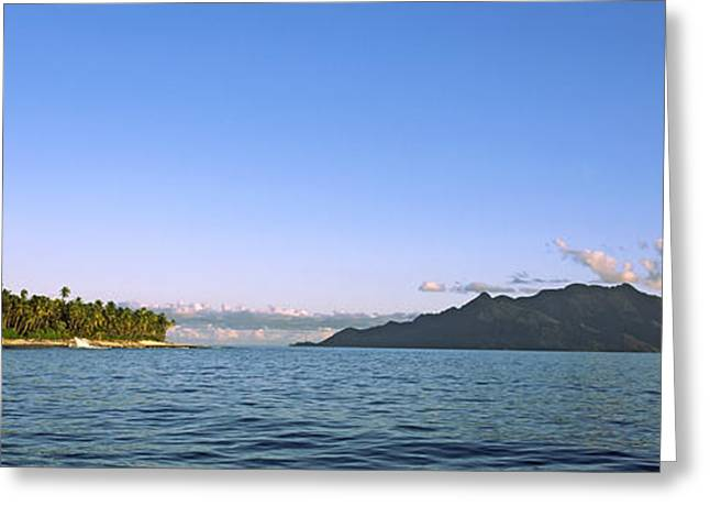 Ocean Images Greeting Cards - Islands In An Ocean, North Island Greeting Card by Panoramic Images