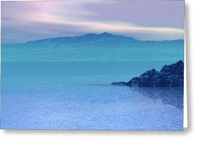 Islands In The Mist Greeting Card by Wayne Bonney