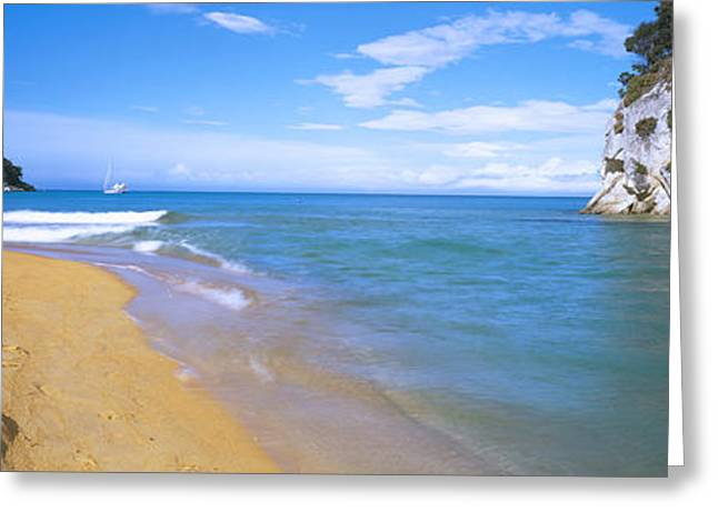 Ocean Photography Greeting Cards - Islands In The Pacific Ocean Greeting Card by Panoramic Images