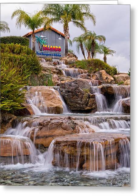Water Flowing Greeting Cards - Islands Time Greeting Card by Lynn Bauer