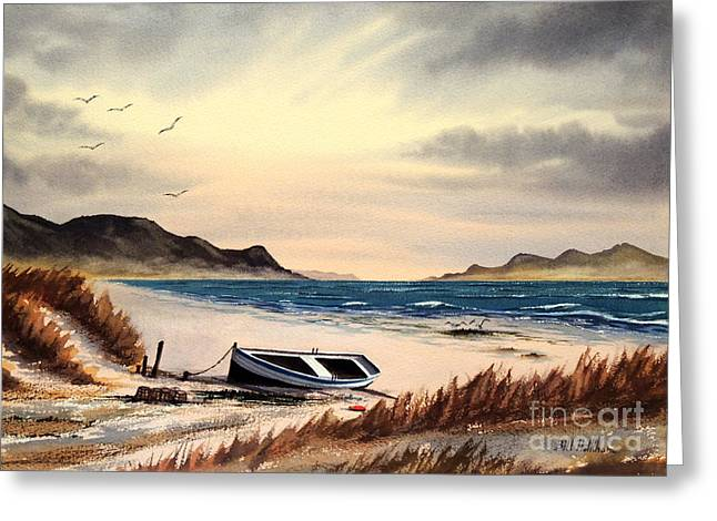 Malt Paintings Greeting Cards - Isle Of Mull Scotland Greeting Card by Bill Holkham