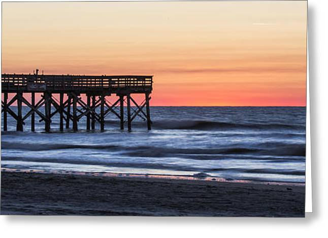 Isle Greeting Cards - Isle of Palms Sunrise  Greeting Card by Dustin K Ryan