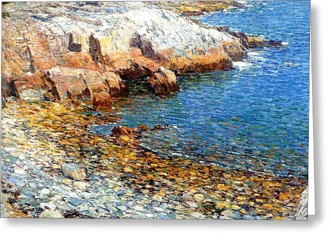 Frederick Digital Greeting Cards - Isles of Shoals Greeting Card by Frederick Childe Hassam