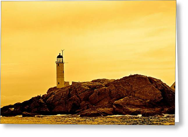 Recently Sold -  - Beauty Mark Greeting Cards - Isles of shoals Greeting Card by Mark Prescott Crannell