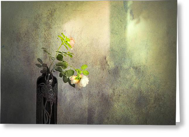 Isn't It Romantic Greeting Card by Theresa Tahara