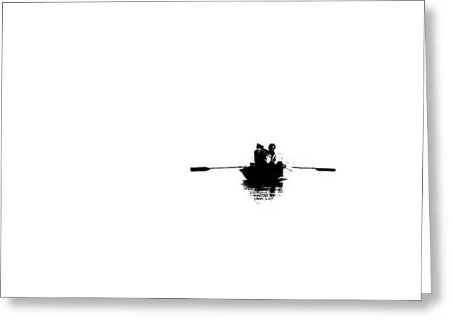 Alone Digital Art Greeting Cards - Isolated  Greeting Card by Prakash Ghai