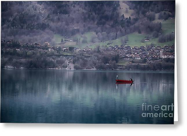 Berne Canton Greeting Cards - Isolation Greeting Card by Omar Dakhane