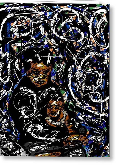 African-americans Greeting Cards - Isolation Greeting Card by Rachel Scott