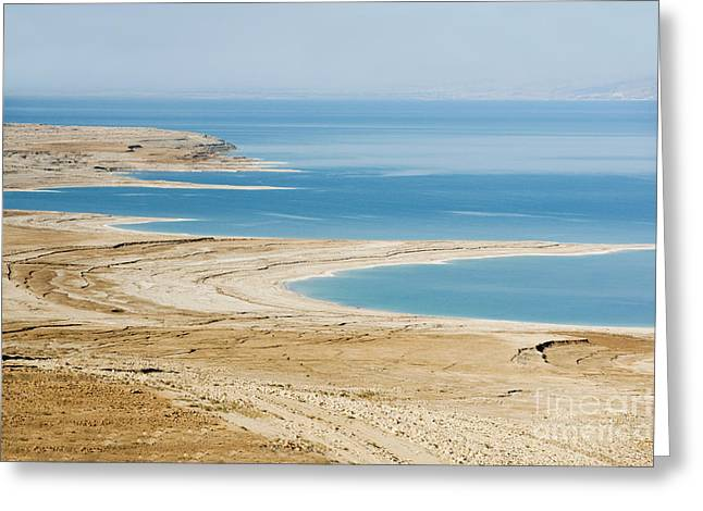 Dead Sea Greeting Cards - Israel Dead Sea  Greeting Card by   Avi Horovitz