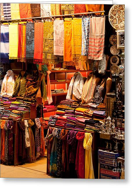 Istanbul Greeting Cards - Istanbul Grand Bazaar 08 Greeting Card by Rick Piper Photography