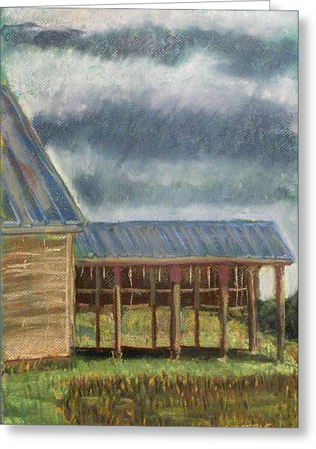 Row Pastels Greeting Cards - It Once Had A Use Greeting Card by Tim  Swagerle