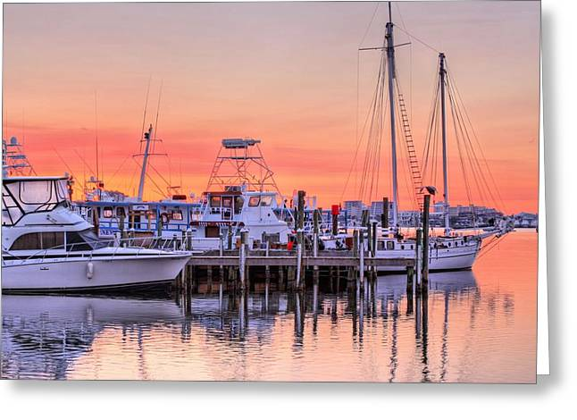 Yatch Greeting Cards - It Takes All Kinds in Destin Greeting Card by JC Findley