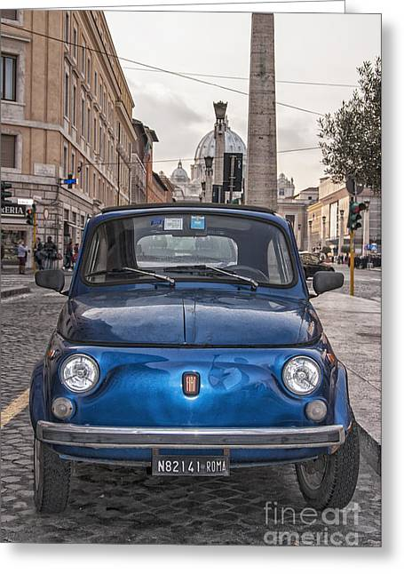 Illustrative Photographs Greeting Cards - Italia Classico Greeting Card by Antony McAulay