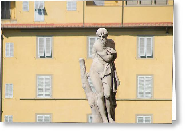 Greek Sculpture Greeting Cards - Italian dream.. Greeting Card by A Rey