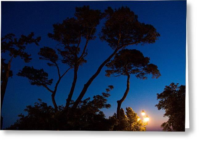 Latern Greeting Cards - Italian dusk Greeting Card by Marco Busoni