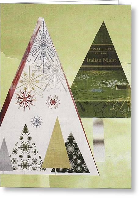 Stonewall Mixed Media Greeting Cards - Italian Night Greeting Card by Matthew Hoffman