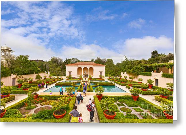 Hamilton Greeting Cards - Italian Renaissance Garden Hamilton Gardens New Zealand Greeting Card by Colin and Linda McKie