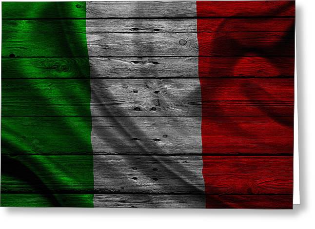 Continent Greeting Cards - Italy Greeting Card by Joe Hamilton