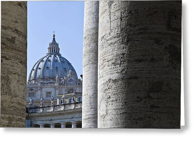 Christianism Greeting Cards - Italy, Lazio, Rome, The Vatican, Saint Greeting Card by Tips Images