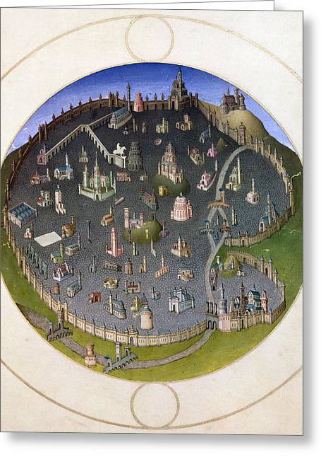 Carousel Collection Greeting Cards - Italy: Rome, 15th Century Greeting Card by Granger