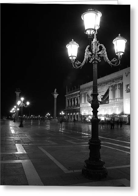 Saint Marc Greeting Cards - Italy, Venice, San Marco Square At Greeting Card by Tips Images