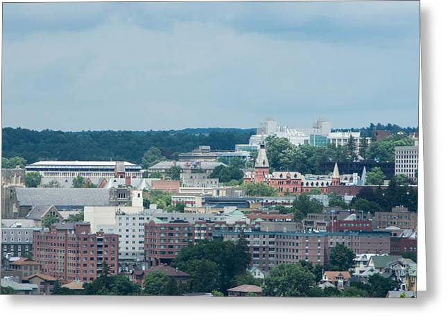 Ithaca Greeting Cards - Ithaca New York and Cornell University Greeting Card by Photographic Arts And Design Studio