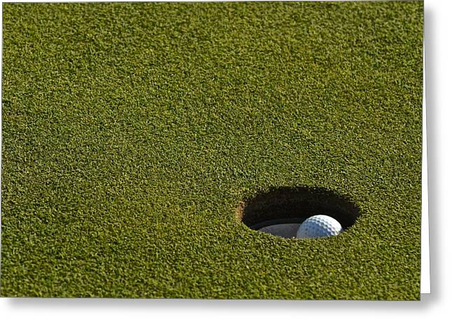 Augusta National Golf Greeting Cards - Its a Birdie Greeting Card by Frozen in Time Fine Art Photography