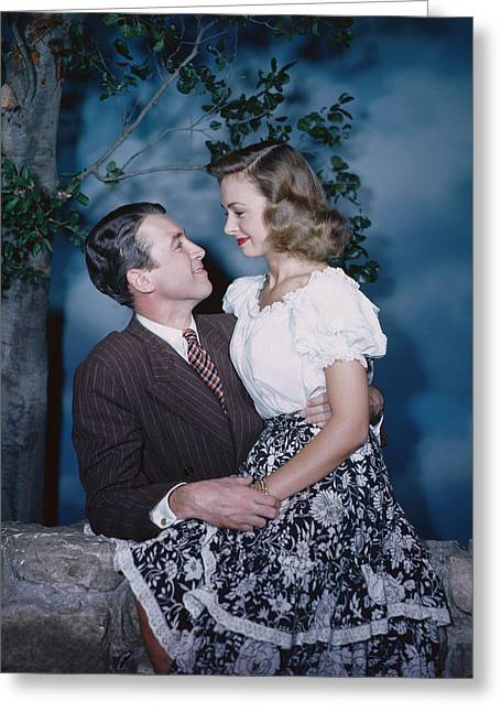 1940s Greeting Cards - Its a Wonderful Life  Greeting Card by Silver Screen