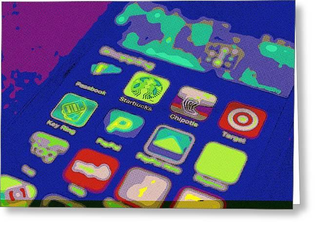 Google Digital Greeting Cards - Its an App World Greeting Card by Florian Rodarte