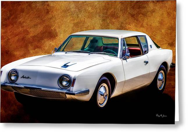 Barry Styles Greeting Cards - Classic - Car - Its An Avanti Greeting Card by Barry Jones