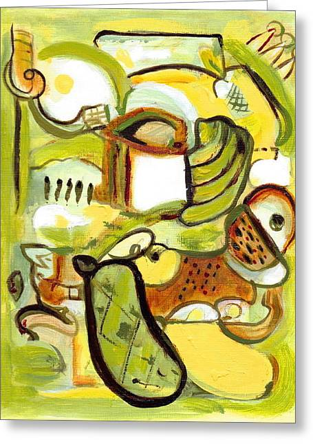 Earthtone Colored Art Greeting Cards - Its My Nature 3 Greeting Card by Stephen Lucas