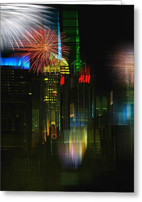 It's New York Greeting Card by Diana Angstadt