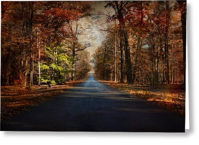 Autumn Scenes Greeting Cards - Its Not Easy Being Green Greeting Card by Jai Johnson