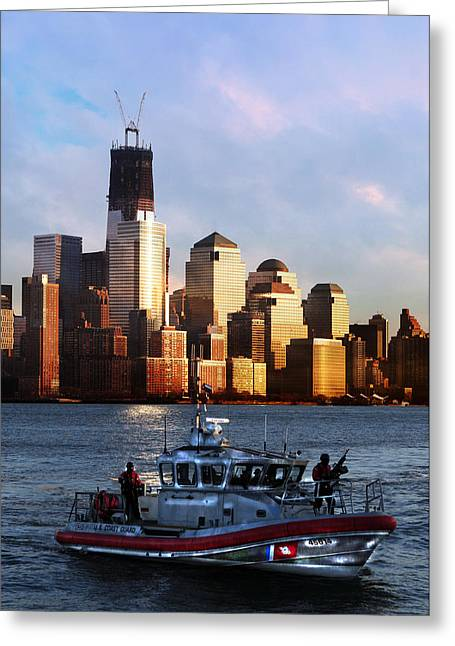 U.s. Coast Guard Greeting Cards - Its Our Freedom Greeting Card by Paul Ward