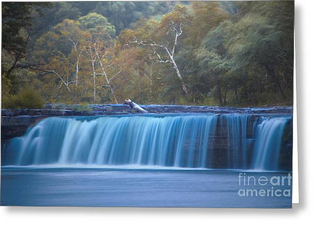 Indiana Autumn Greeting Cards - Its Raining Outside Greeting Card by Michael J Samuels