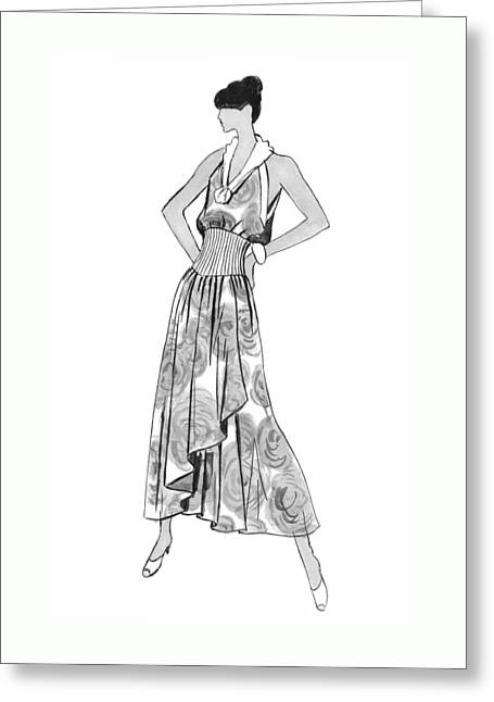 It's Sarong It's Right Greeting Card by Sarah Parks