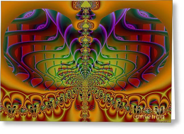Mystic Art Greeting Cards - Ive Got Soul Greeting Card by Dana Haynes