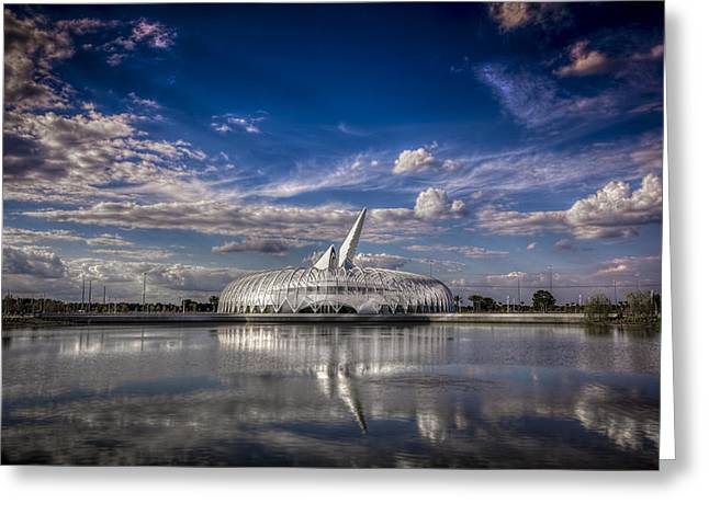 Florida Pond Greeting Cards - Ivory Tower of Knowledge  Greeting Card by Marvin Spates