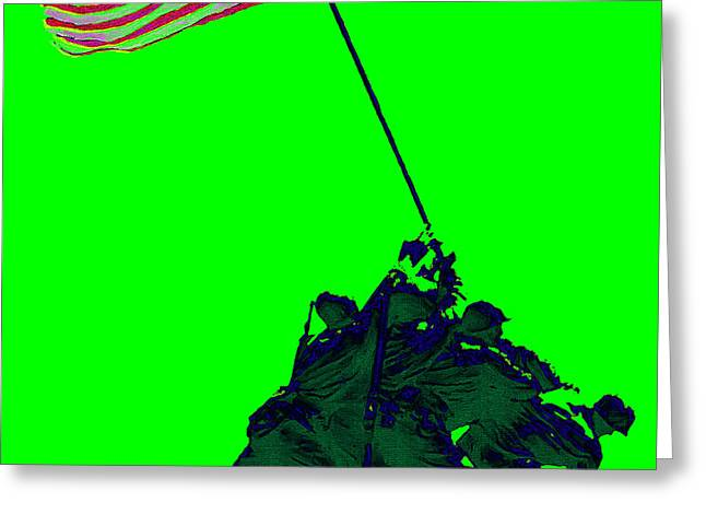 Iwo Jima 20130210p180 Greeting Card by Wingsdomain Art and Photography